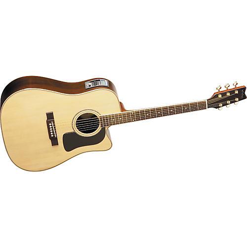 washburn d10scedl acoustic electric guitar guitar center. Black Bedroom Furniture Sets. Home Design Ideas