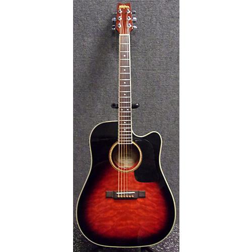 used washburn d10qsb acoustic electric guitar guitar center. Black Bedroom Furniture Sets. Home Design Ideas