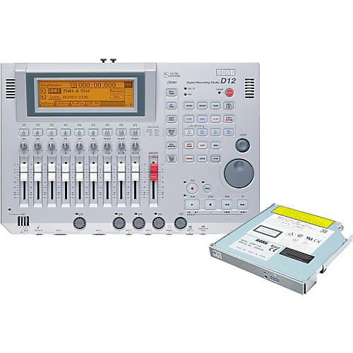 Korg D12 12-Track Digital Recorder with CD-RW Drive-thumbnail