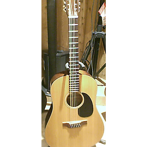 Martin D12 20 12 String Acoustic Guitar Natural