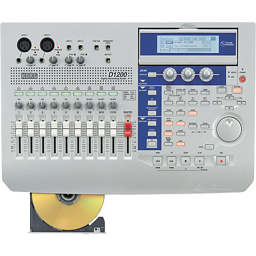Korg D1200 Digital Recorder with CD Burner