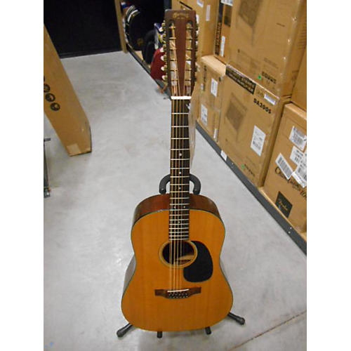 Martin D1220 12 String Acoustic Guitar Natural