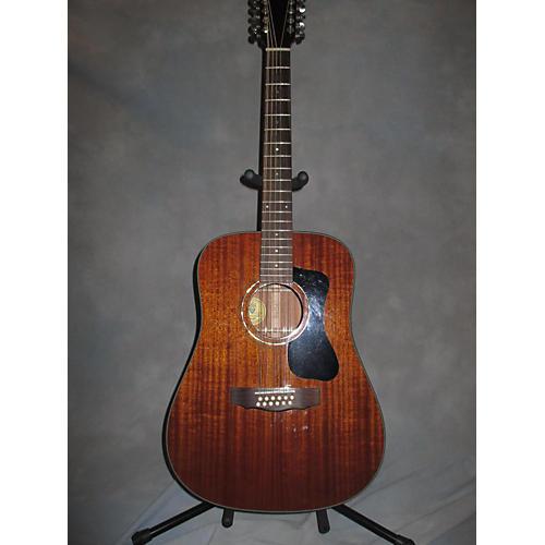 Guild D125-12 12 String Acoustic Guitar Natural