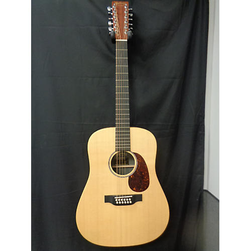 Martin D12X1AE 12 String Acoustic Electric Guitar Natural