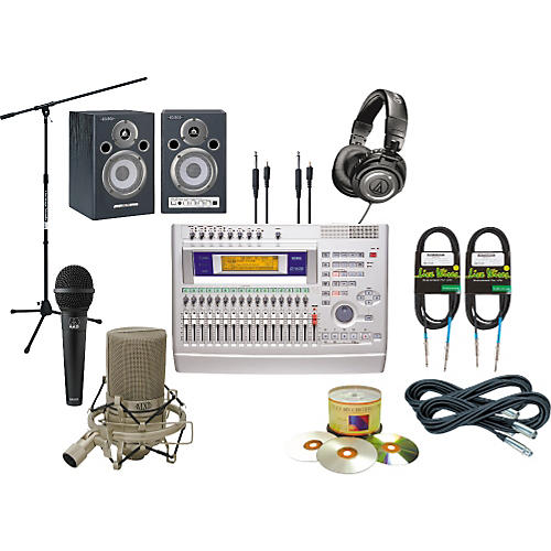 Korg D1600V40 All-in-One Recording Package