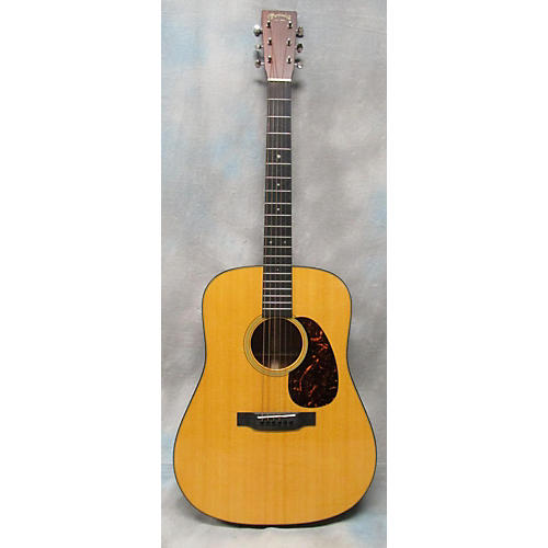 Martin D18 W/LR BAGGS Acoustic Electric Guitar-thumbnail