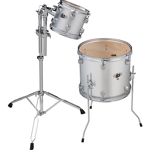 Ddrum D2 2-Piece Add On Pack Brushed Silver-thumbnail