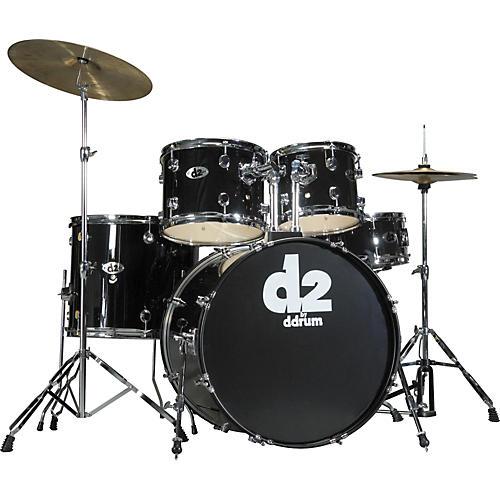 Ddrum D2 5-piece Drum Set Midnight Black