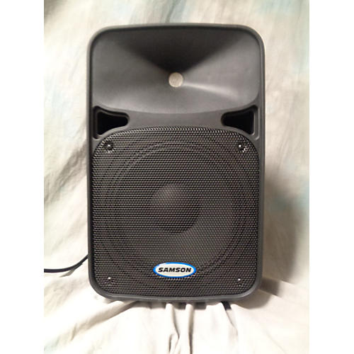 used samson d210 powered speaker guitar center. Black Bedroom Furniture Sets. Home Design Ideas