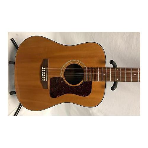 used guild d25 12nt 12 string acoustic electric guitar natural guitar center. Black Bedroom Furniture Sets. Home Design Ideas