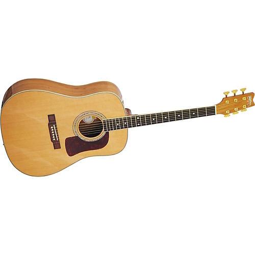 Washburn D27SC Dreadnought Acoustic Guitar-thumbnail
