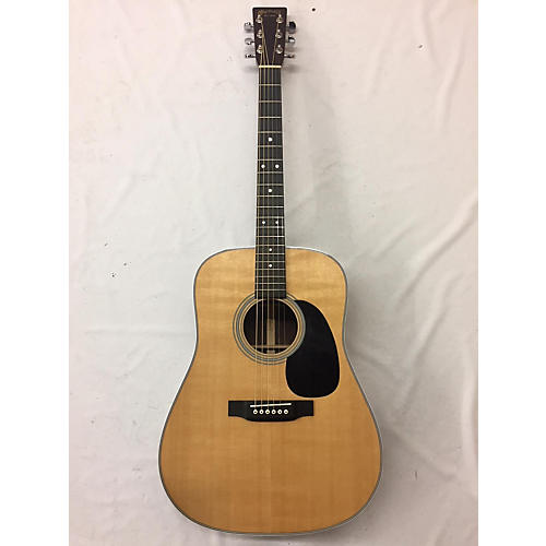 used martin d28 acoustic guitar natural guitar center. Black Bedroom Furniture Sets. Home Design Ideas