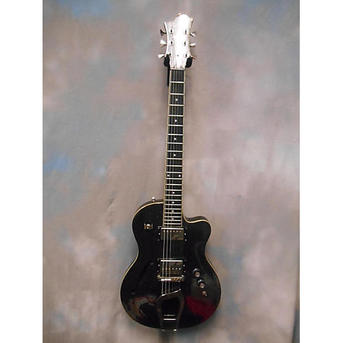 Hagstrom D2F Hollow Body Electric Guitar-thumbnail