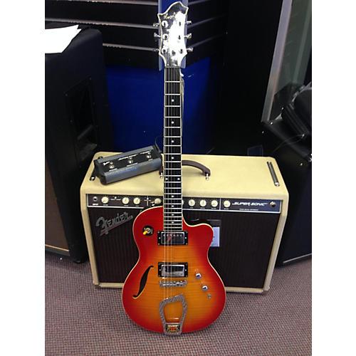 Hagstrom D2F Hollow Body Electric Guitar-thumbnail