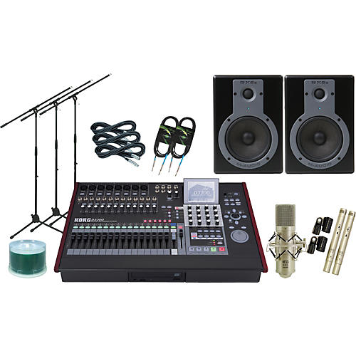 Korg D3200 All-In-One Recording Package-thumbnail