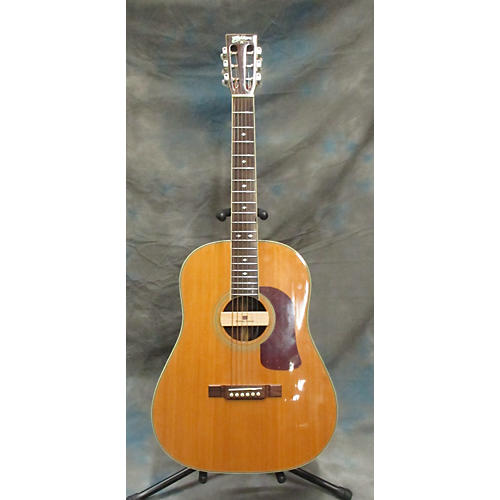 Washburn D34-s With Seymour Duncan Woody Installed Acoustic Electric Guitar