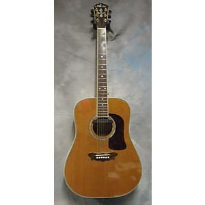Pre-owned Washburn D34S Acoustic Guitar by Washburn