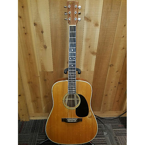 Martin D35 Acoustic Guitar Natural