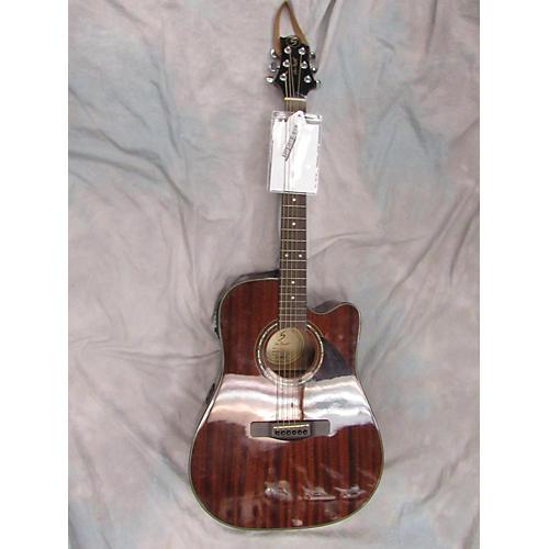 used greg bennett design by samick d3ce acoustic electric guitar guitar center. Black Bedroom Furniture Sets. Home Design Ideas