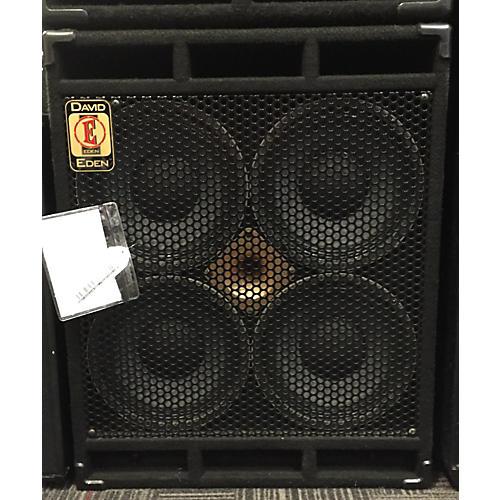Eden D410XLT 700W 4x10 Bass Cabinet-thumbnail