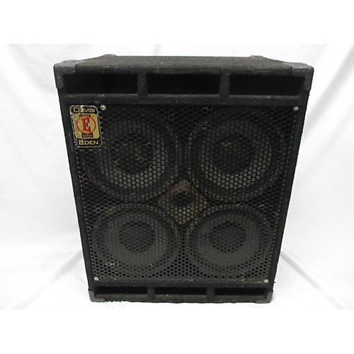Eden D410XLT 700W 4x10 Bass Cabinet