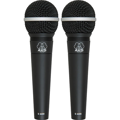 AKG D4400 Premium Vocal Mic - Buy One Get One Free!