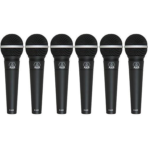 AKG D4400 Premium Vocal Mic Six Pack-thumbnail