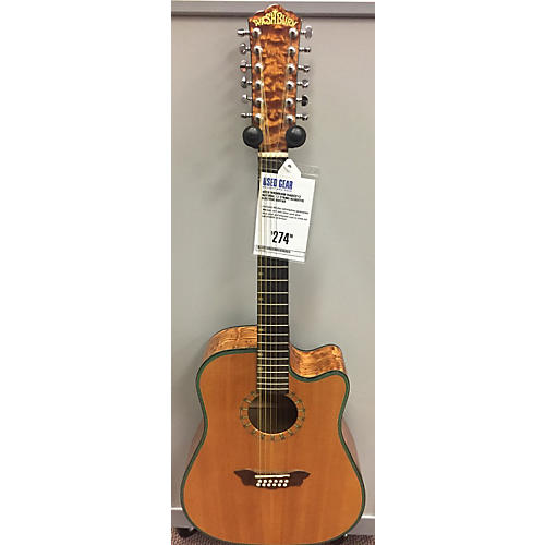 Washburn D46sce12 12 String Acoustic Electric Guitar