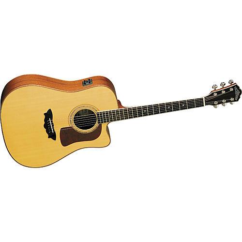 Washburn D52SWCE Timbercraft Cutaway Acoustic-Electric Guitar