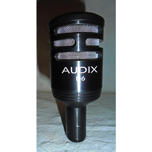 Audix D6 Black Drum Microphone-thumbnail