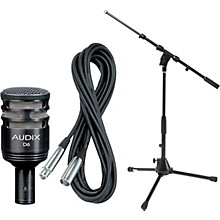 Audix D6 Kick Drum Mic with Cable and Stand
