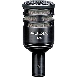 Audix D6 Sub Impulse Kick Drum Mic by Audix