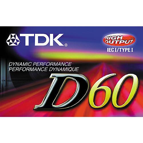 TDK D60 Type 1 Cassette-thumbnail