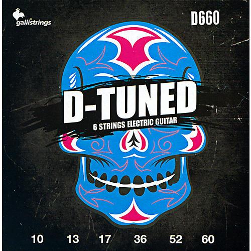 Galli Strings D660 D-TUNED Electric Guitar Strings 10-60-thumbnail