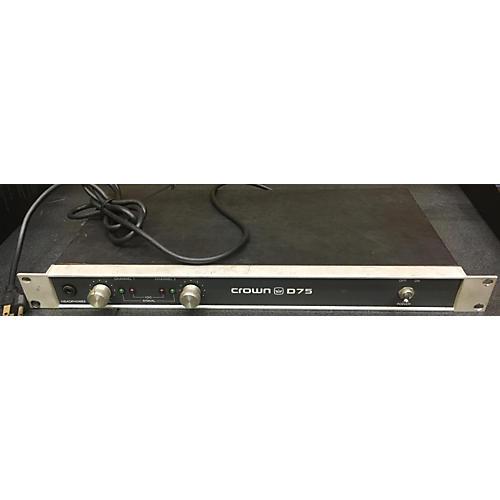 Crown D75 Guitar Power Amp