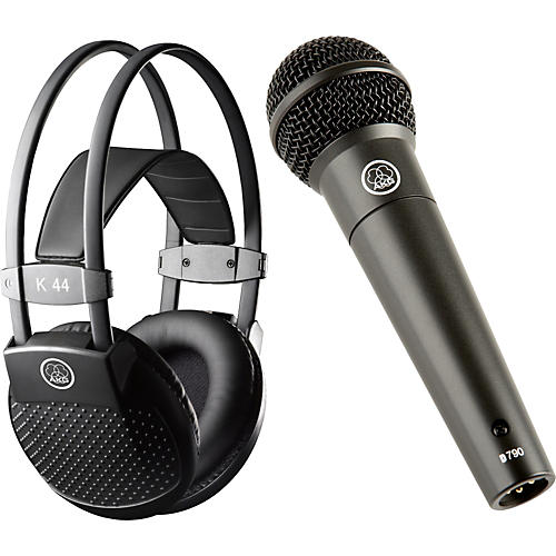 AKG D790 Dynamic Mic with K44 MKII Headphones-thumbnail