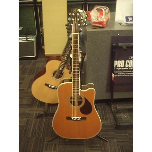 Greg Bennett Design by Samick D7CE Acoustic Electric Guitar-thumbnail