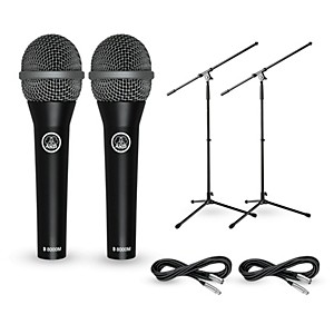AKG D8000M with Cable and Stand 2 Pack by AKG