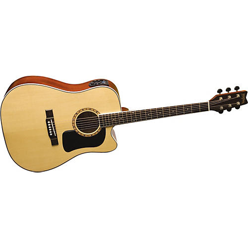 Washburn D9CE Dreadnought Acoustic-Electric Guitar-thumbnail