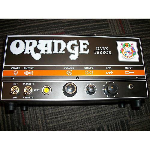 Orange Amplifiers DA15H Dark Terror 15W Tube Guitar Amp Head-thumbnail