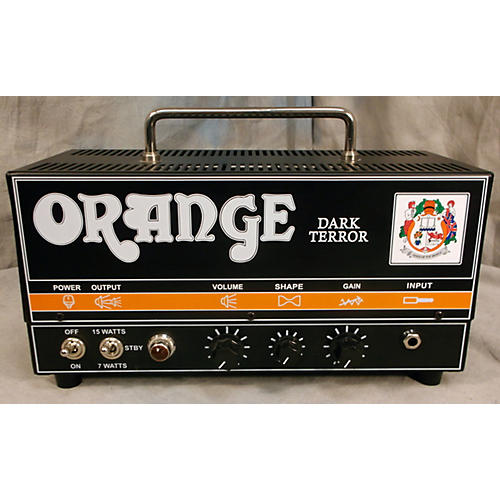 Orange Amplifiers DA15H Dark Terror 15W Tube Guitar Amp Head