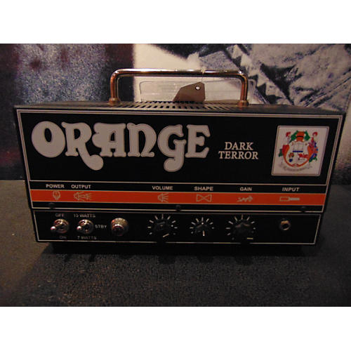 Orange Amplifiers DA15H Dark Terror 15W Tube Guitar Amp Head-thumbnail