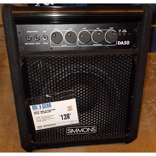 Simmons DA50 50W Black Drum Amplifier