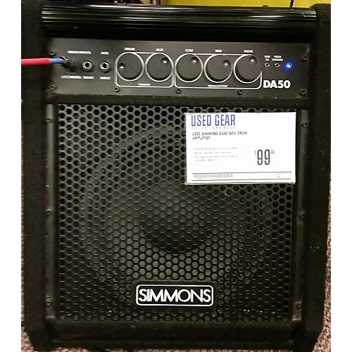 Simmons DA50 50W Drum Amplifier