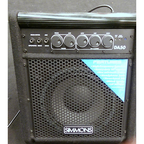 Simmons DA50 50W Drum Amplifier-thumbnail