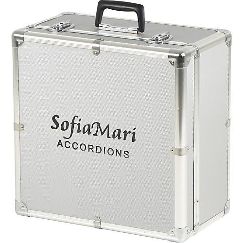 Sofiamari DAC-3112 Deluxe Metal Accordion Case-thumbnail