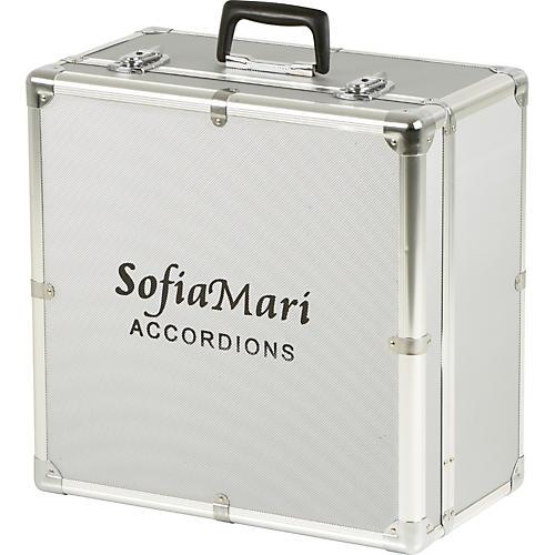 SofiaMari DAC-3412 Deluxe Metal Accordion Case-thumbnail
