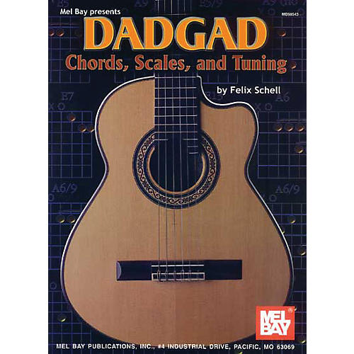 Mel Bay DADGAD Chords, Scales, and Tuning Book-thumbnail