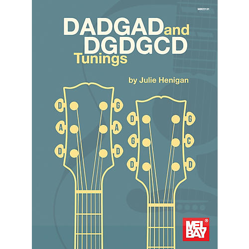 Mel Bay DADGAD and DGDGCD Tunings-thumbnail