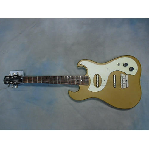 Danelectro DANO 63 Gold Solid Body Electric Guitar-thumbnail